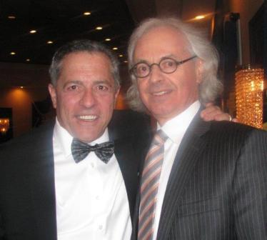 Justice Eric Macklin gave a loving tribute (roast) of his long time friend Jeff Rubin