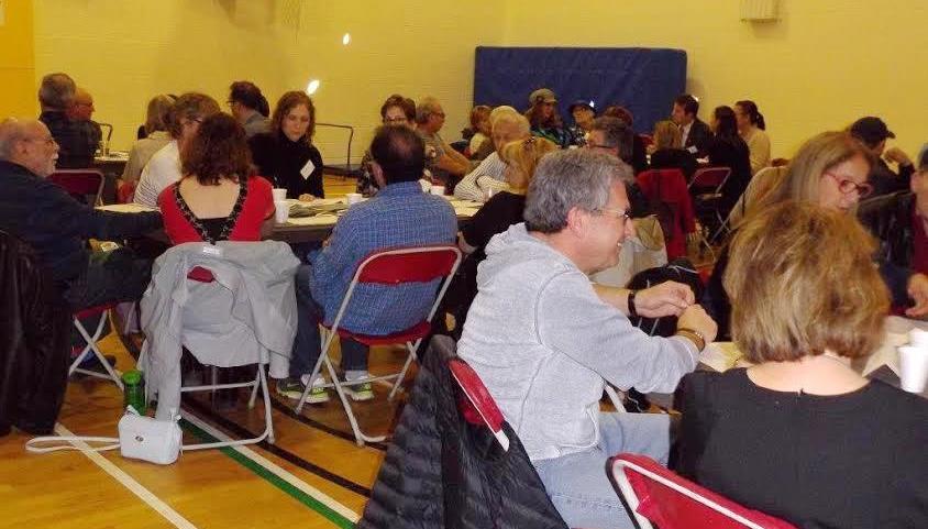Town Hall meetings were held in three locations