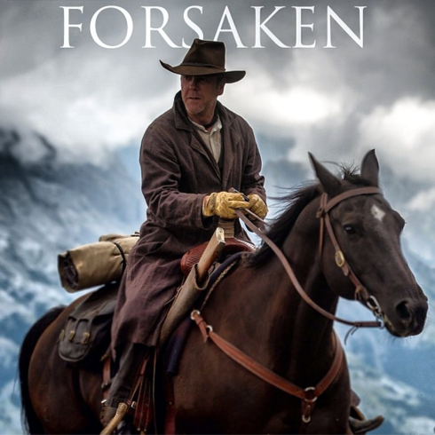 Forsaken -  Kiefer and Donald Sutherland finally appear onscreen together in a gunslinger tale shot in the Calgary area. Photo from the Calgary Herald