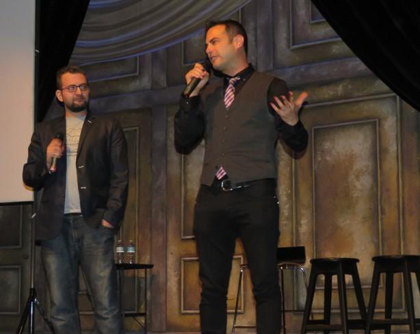 """Yid Life Crisis"" duo Jamie Elman and Eli Batalion"