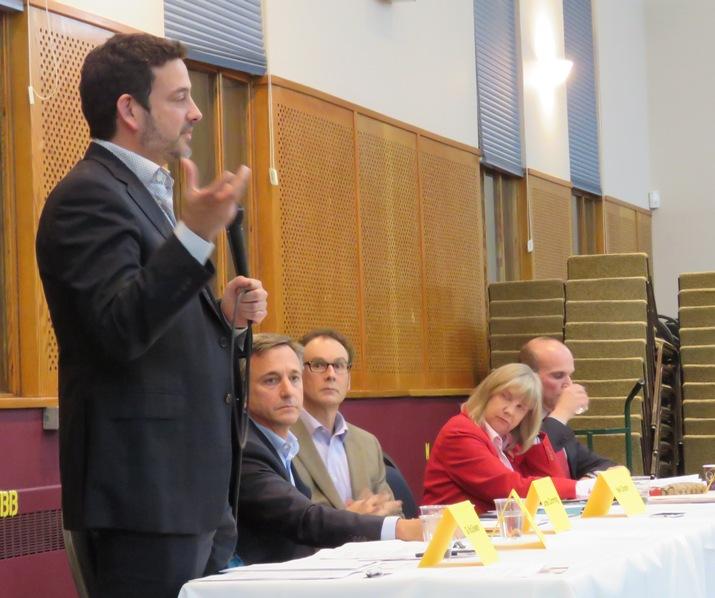 NDP Candidate Gil McGowan