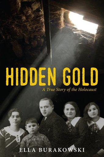 book jacket for Hidden Gold