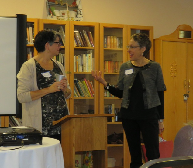 TBO's Francie Nobleman thanked Paula Globerman for her presentations on neonatal intensive care.