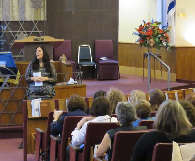 Rabbanit Batya Friedman welcomed delegates.
