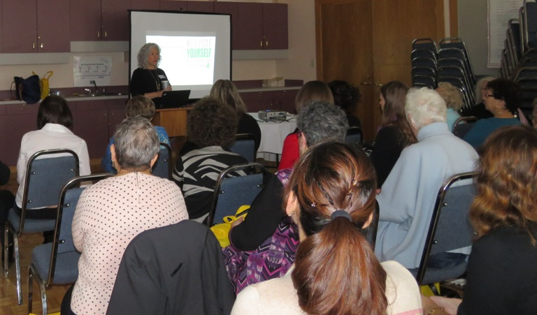 Sharon Marcus led workshops on organ donation.
