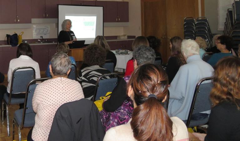 Sharon Marcus led workshops on organ donation.