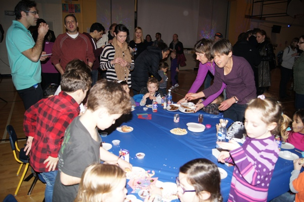There was fun for everyone at the Talmud Torah Early Learning Centre Chanukah Party held last month.