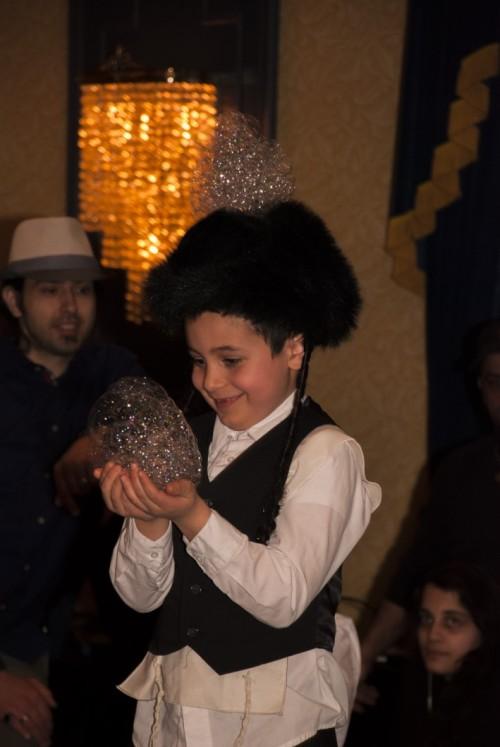Purim fun (Photo by Meital Siva)
