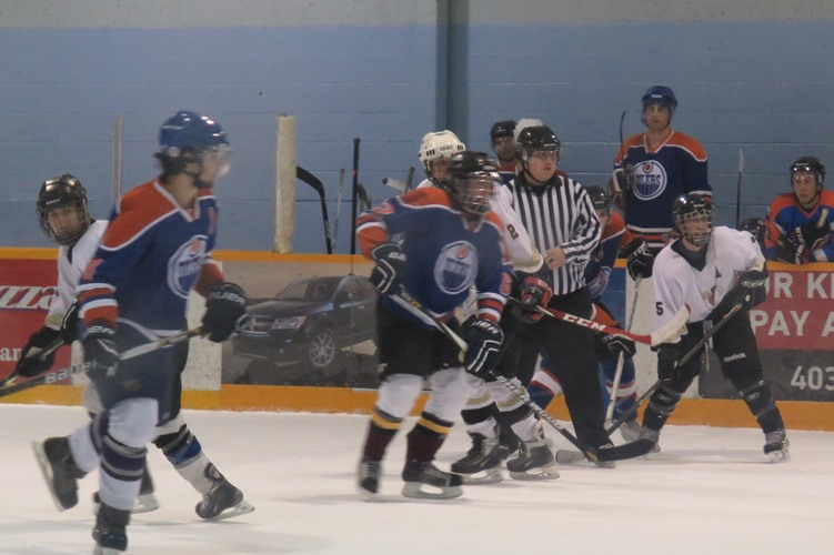 Game 3 was held on April 17; it was fast paced and hard hitting and the fierce rivalry ended with the HeAtBags winning 7 - 4.