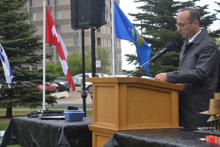 Jewish Federation of Edmonton President Ellery Lew