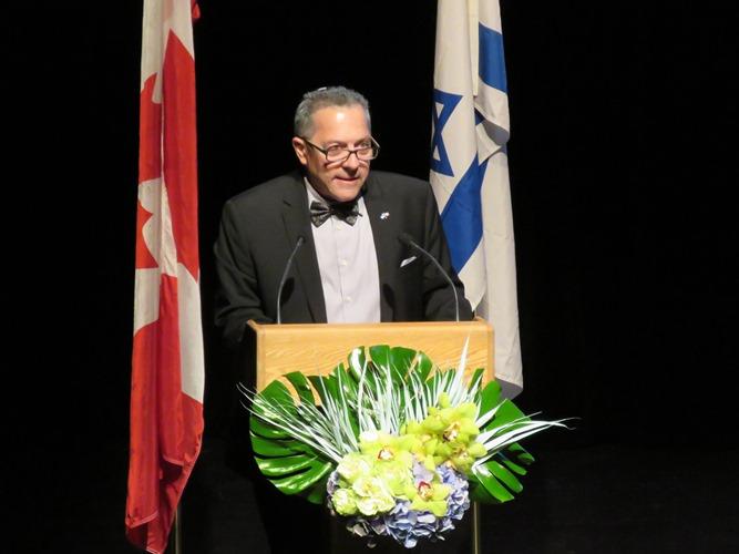 JNF Edmonton President Jeff Rubin